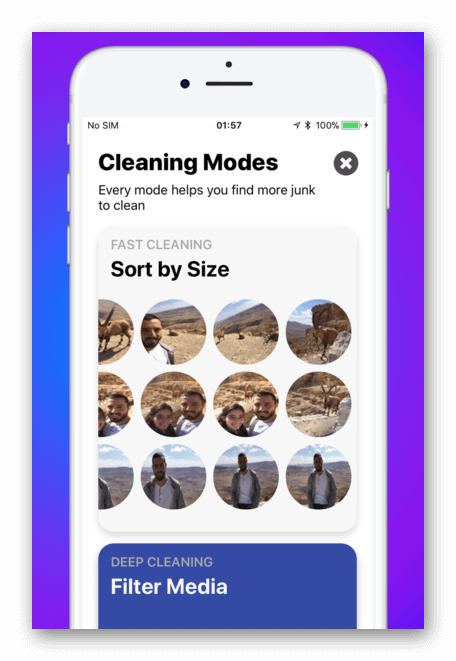 Cleaner Duplicate for iPad iPhone