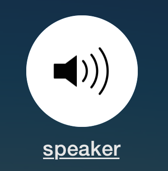 iPhone Speaker phone mode enabled by default