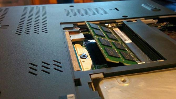 память для ноутбука