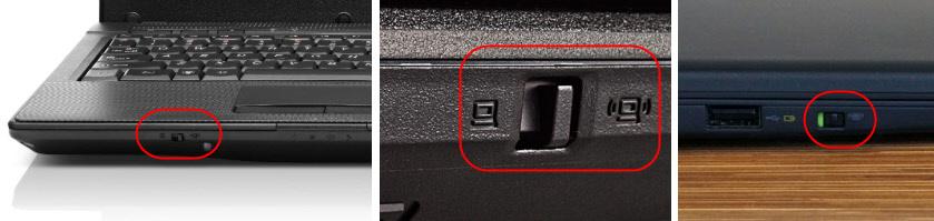 Ноутбуки Lenovo: механический переключатель Wi-Fi