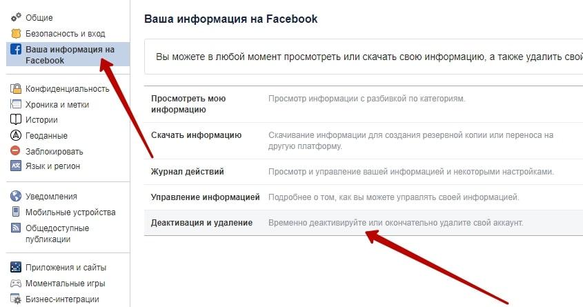 Как удалить работу в фейсбук удаленная работа редактор москва