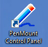 Ярлык для запуска утилиты AMT PenMount