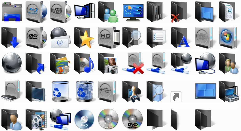 шапки картинки системных папок количество