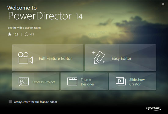 PowerDirector 14